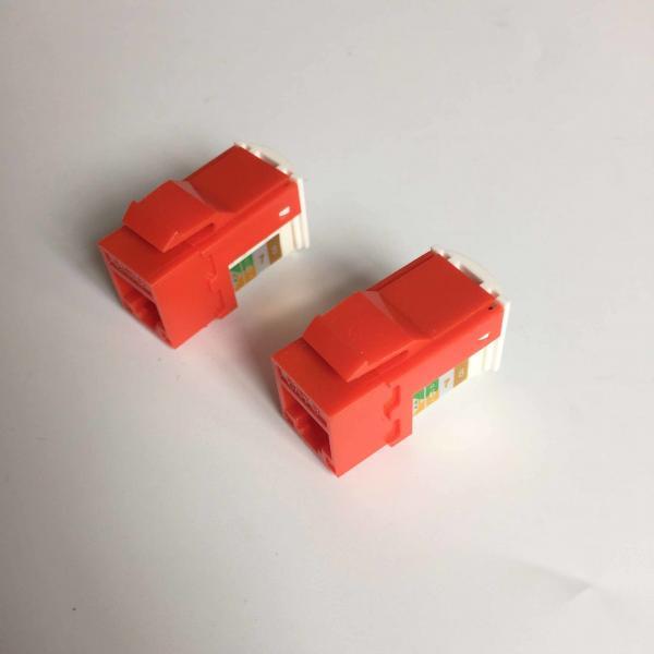 Quality Цвет Джека Кейстоне степени КАТ6 РДЖ45 УТП 90 подгонянный для связи системы for sale