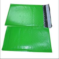 China Green Color Poly Bubble Mailers Size 1 Air Bubble Envelope Self Adhesive Seal wholesale