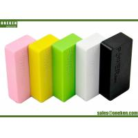 Quality 5200mAh Portable Cell Phone Battery Charger , Mobile Phone Power Bank Fast for sale
