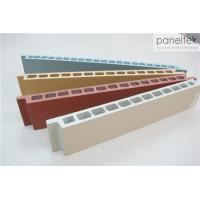 No Light Pollution Terracotta Facade Panels Multi Color With 30mm Thickness