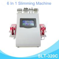 China 6 In 1 Lipo Laser Slimming Machine , Vaccum Cavitation RF Fat Removal Device wholesale