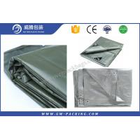 China Colorful Large Heavy Duty Tarps , Sun - Resistant Black Plastic Tarpaulin Sheets on sale