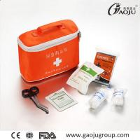 China Practical Medical Accessories Emergency First Aid Kits GJ-2076 ISO Certificate First Aid Kit Home wholesale