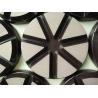 China High Flexibility 3 Inch Ceramic Bond Diamond Polishing Pads For Concrete wholesale