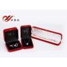 China Forma amistosa del cuadrado determinado del joyero del terciopelo de Eco para la exhibición del colgante/de la pulsera wholesale