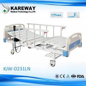 安全2モーター電気ICUベッド、TPRの足車が付いているハイ・ロー ベッドの病院用ベッド