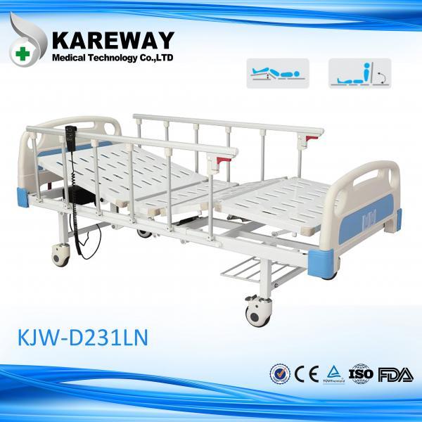 Quality 安全2モーター電気ICUベッド、TPRの足車が付いているハイ・ロー ベッドの病院用ベッド for sale