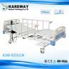 China 安全2モーター電気ICUベッド、TPRの足車が付いているハイ・ロー ベッドの病院用ベッド wholesale