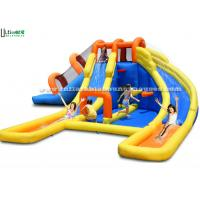 China Children Inflatable Water Jumping Castle Attractive Fire Retardant EN14960 wholesale
