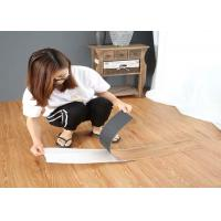 China Glue Adhesive LVT Flooring Plastic Vinyl Flooring For Commercial Decoration on sale