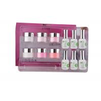 China Smooth French Dip Kit Non - Yellowing , White And Pink French Nail Art Kit wholesale