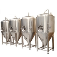 China Conical Fermentor For Mini Beer Brewing Equipment Stainless steel 304 on sale