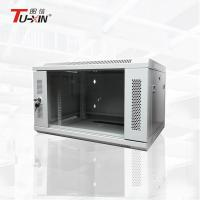 China Dustproof Wall Mount Network Rack , Custom Wall Mount Rack Enclosure Cabinet wholesale