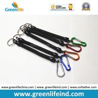 China 2.5*10*150MM Retractable Stretchy Coiled Fishing Tool Plier Lanyard Rope Strings wholesale
