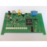 Buy cheap Immersion Silver FR4, Green Solder Mask 2 layer SMT PCB Assembly for Alchol from wholesalers