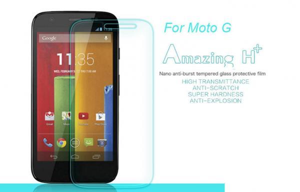 Quality Super thin Motorola Glass screen protector , MOTO G glass screen guard for sale