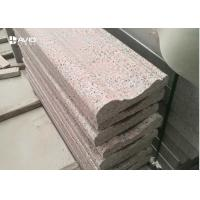 China G561 Burned Granite Exterior Stone Wall Cladding High Compressive Strength wholesale