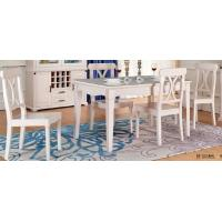 China Europe Contemporary Dining Room Furniture Solid Wood Frame 480 * 533 * 940 wholesale