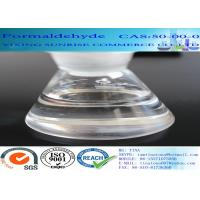 China CAS 50-00-0 Formaldehyde No Suspended Substance Liquid With Strong Pungent Odor wholesale