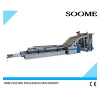 China High Speed Flute Laminating Machine Semi Auto Industrial 1400 Lift Type Power 6KW on sale