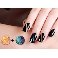 China Odorless 5D Cat Eye Magnetic Nail Polish With GMP Cert / Led Nail Gel Polish wholesale