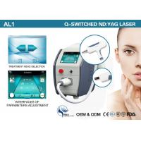 China Portable Q Switched Nd Yag Laser Tattoo Removal Machine 1064nm 532nm 1320nm wholesale