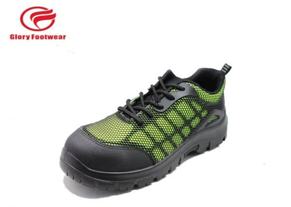 Quality Mesh Fabric Men Lightweight Industrial Safety Shoes Anti-Static Customized for sale