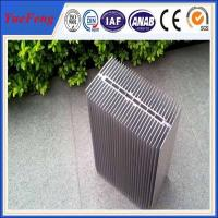 China HOT!reliable chinese supplier extruded large radiator heat sinks with silver color wholesale