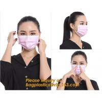 China 3ply Disposable Medical Face Mask for Medical&Health, Household,,Medical disposable face mask three layers sterility mas wholesale