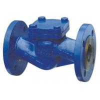 China Din Cast Steel Check Valve Swing Disc Lift Disc Good Sealing Performance on sale