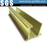 China C3800 / C3850 Construction Materials Solid Extrusion Brass Window Frame wholesale
