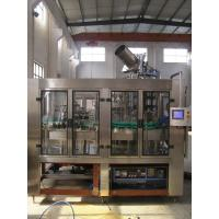China Hot Water Liquid Glass Bottle Filling Machine 10000-12000bph Electric Driven Type wholesale