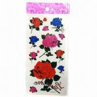 Buy cheap Tattoo Stickers, Eco-friendly and Non-toxic, Available in Different Colors/Sizes from wholesalers