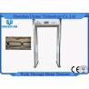 China Detector de metales del escáner del cuerpo del marco de puerta del aeropuerto de 5,7 pulgadas, detector de metales del recorrido para la seguridad wholesale