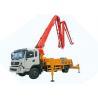China DFAC King Run 35m Concrete Boom Pump Truck, Truck Mounted Concrete Mixer wholesale