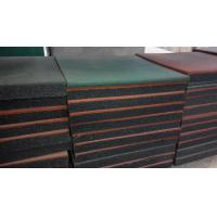 China Standard model and excellent performance high quality outdoor rubber flooring tiles on sale