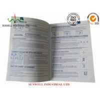 China Bi / Tri Fold Custom Printed Small Booklets With Multi Language Support for sale