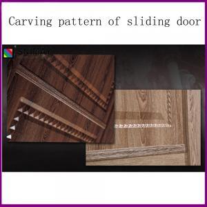 Modular High gloss Modern Wardrobe with sliding doors free standing