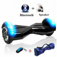 China 2 Wheel Self Balance Custom Electric Scooter With Bluetooth Speaker LED Light wholesale