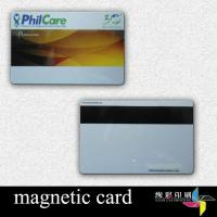 China Glossy , Matte , Frosting Hico PVC Magnetic Stripe Cards 4 Color Offset wholesale