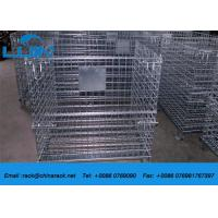 China AS4084 Steel Wire Mesh Cages Corrosion Protection Material Foldable Type wholesale