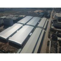 China Q235 / Q345 Pre Engineering Structure Steel Warehouse Galvanizing Surface Treatment on sale