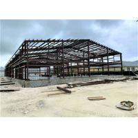 China Prefabricated Industrial Metal Factory Building Steel Structure Warehouse on sale