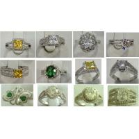 China color stone ring,fashion ring in 925 silver rings wholesale