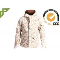 China Men's Desert Military Tactical Jackets For Outside Hunting Lamination Treatment wholesale