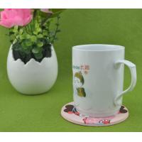 China Lovely Girl 2d/3d Silicone Cup Coaster / Heat Resistant Table Placemat For Promotion Gift wholesale