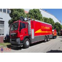 China Max Power 294kw Remote Water Supply System Fire Truck Hose Reel Retraction Speed 2.5 - 3M/S wholesale