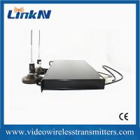 China 1U Rack - Mountable COFDM Receiver Support NLOS Fast Moving Transmission wholesale