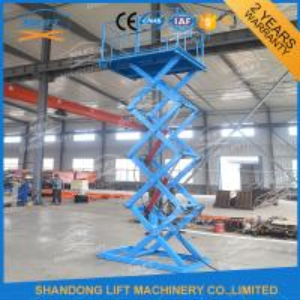 Buy cheap CE hydraulique TUV d'ascenseur de ciseaux de cargaison d'ascenseur de 1.5T 3.8M d'entrepôt matériel de plate-forme from wholesalers