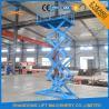 China CE hydraulique TUV d'ascenseur de ciseaux de cargaison d'ascenseur de 1.5T 3.8M d'entrepôt matériel de plate-forme wholesale
